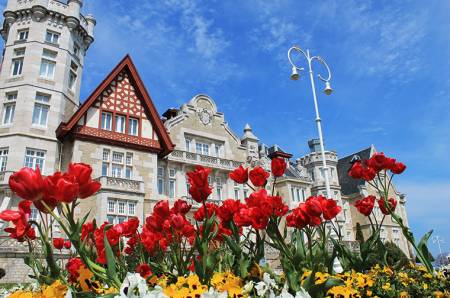 Кантабрия, Сантандер, Самые красивые Дворцы Испании, Дворец Ла Магдалена