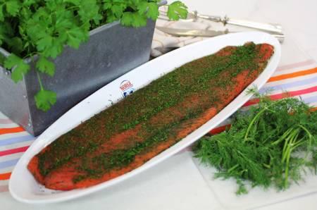 Рецепты кухни Испании и Страны Басков, маринованный лосось