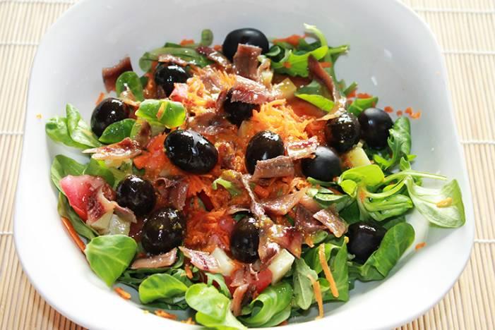 салат испанский рецепт с фото
